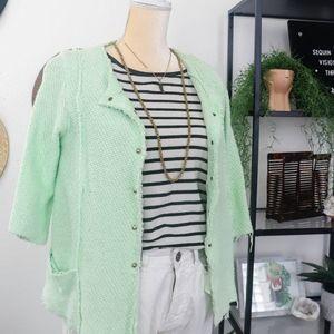 Minty Chanel style jacket